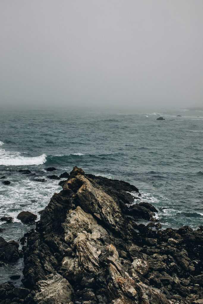 sea and mist